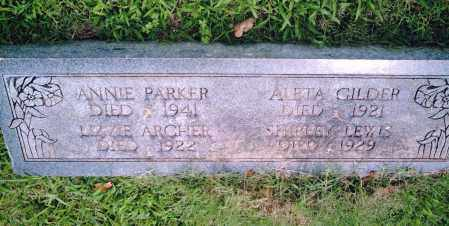 ARCHER, LIZZIE - Pulaski County, Arkansas | LIZZIE ARCHER - Arkansas Gravestone Photos
