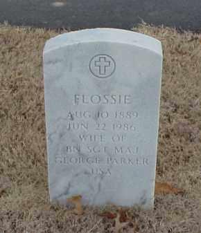 PARKER, FLOSSIE - Pulaski County, Arkansas | FLOSSIE PARKER - Arkansas Gravestone Photos
