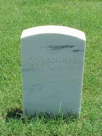 PARKER, JR (VETERAN WWII), ARLANDO E - Pulaski County, Arkansas | ARLANDO E PARKER, JR (VETERAN WWII) - Arkansas Gravestone Photos