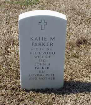 PARKER, KATIE M - Pulaski County, Arkansas | KATIE M PARKER - Arkansas Gravestone Photos