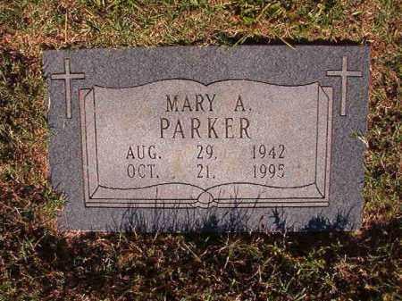 PARKER, MARY A - Pulaski County, Arkansas | MARY A PARKER - Arkansas Gravestone Photos