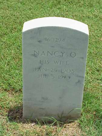 PARKER, NANCY O - Pulaski County, Arkansas | NANCY O PARKER - Arkansas Gravestone Photos