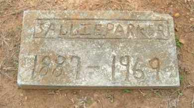 PARKER, SALLIE - Pulaski County, Arkansas | SALLIE PARKER - Arkansas Gravestone Photos