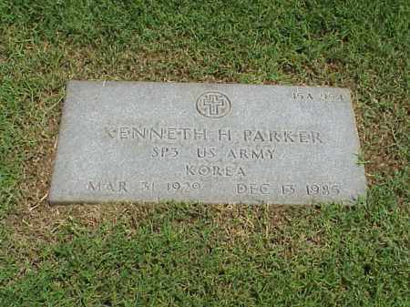 PARKER (VETERAN KOR), KENNETH H - Pulaski County, Arkansas | KENNETH H PARKER (VETERAN KOR) - Arkansas Gravestone Photos