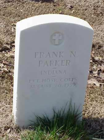 PARKER (VETERAN SAW), FRANK N - Pulaski County, Arkansas   FRANK N PARKER (VETERAN SAW) - Arkansas Gravestone Photos