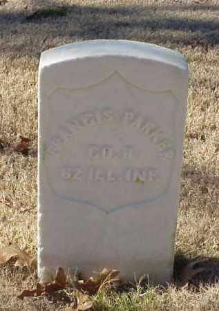 PARKER (VETERAN UNION), FRANCIS - Pulaski County, Arkansas | FRANCIS PARKER (VETERAN UNION) - Arkansas Gravestone Photos