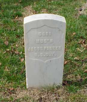 PARKER (VETERAN UNION), JACOB - Pulaski County, Arkansas | JACOB PARKER (VETERAN UNION) - Arkansas Gravestone Photos