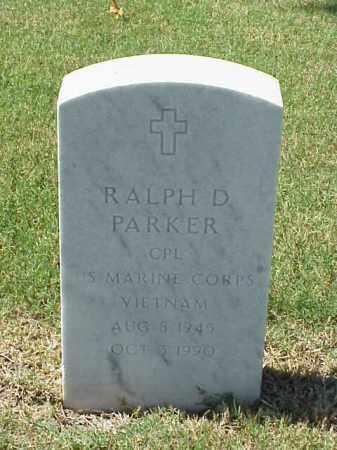 PARKER (VETERAN VIET), RALPH D - Pulaski County, Arkansas | RALPH D PARKER (VETERAN VIET) - Arkansas Gravestone Photos