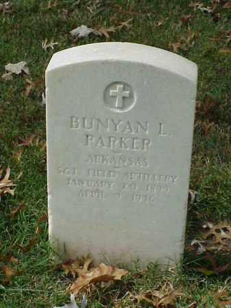 PARKER (VETERAN WWI), BUNYAN L - Pulaski County, Arkansas | BUNYAN L PARKER (VETERAN WWI) - Arkansas Gravestone Photos