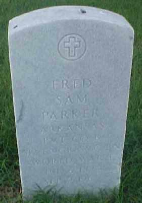PARKER (VETERAN WWI), FRED SAM - Pulaski County, Arkansas | FRED SAM PARKER (VETERAN WWI) - Arkansas Gravestone Photos