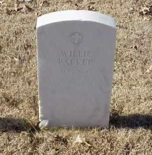 PARKER (VETERAN WWI), WILLIE - Pulaski County, Arkansas | WILLIE PARKER (VETERAN WWI) - Arkansas Gravestone Photos