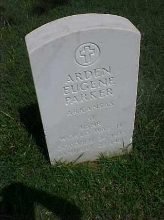 PARKER (VETERAN WWII), ARDEN EUGENE - Pulaski County, Arkansas | ARDEN EUGENE PARKER (VETERAN WWII) - Arkansas Gravestone Photos