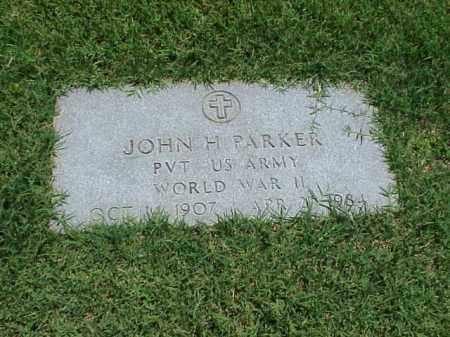 PARKER (VETERAN WWII), JOHN H - Pulaski County, Arkansas | JOHN H PARKER (VETERAN WWII) - Arkansas Gravestone Photos