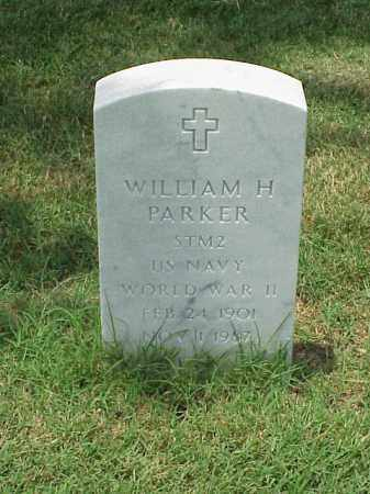 PARKER (VETERAN WWII), WILLIAM H - Pulaski County, Arkansas | WILLIAM H PARKER (VETERAN WWII) - Arkansas Gravestone Photos