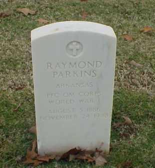 PARKINS (VETERAN WWI), RAYMOND - Pulaski County, Arkansas | RAYMOND PARKINS (VETERAN WWI) - Arkansas Gravestone Photos