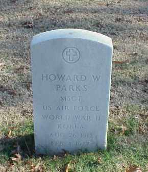 PARKS (VETERAN 2 WARS), HOWARD W - Pulaski County, Arkansas | HOWARD W PARKS (VETERAN 2 WARS) - Arkansas Gravestone Photos