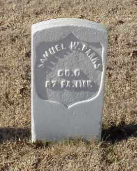 PARKS (VETERAN UNION), SAMUEL W - Pulaski County, Arkansas | SAMUEL W PARKS (VETERAN UNION) - Arkansas Gravestone Photos