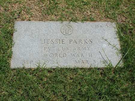 PARKS (VETERAN WWII), JESSIE - Pulaski County, Arkansas | JESSIE PARKS (VETERAN WWII) - Arkansas Gravestone Photos