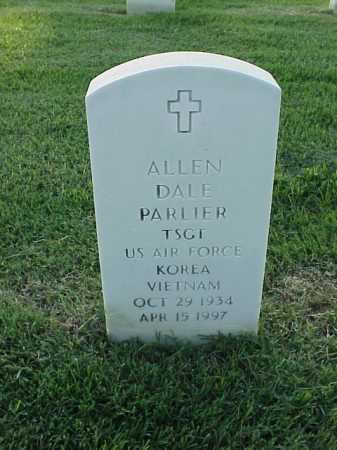 PARLIER (VETERAN 2 WARS), ALLEN DALE - Pulaski County, Arkansas | ALLEN DALE PARLIER (VETERAN 2 WARS) - Arkansas Gravestone Photos