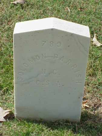 PARRISH (VETERAN CSA), SOLOMON - Pulaski County, Arkansas | SOLOMON PARRISH (VETERAN CSA) - Arkansas Gravestone Photos