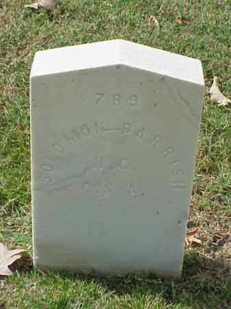 PARRISH (VETERAN CSA), SOLOMON - Pulaski County, Arkansas | SOLOMON PARRISH (VETERAN CSA) - Arkansas Gravestone Photos