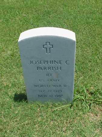 PARRISH (VETERAN WWII), JOSEPHINE C - Pulaski County, Arkansas | JOSEPHINE C PARRISH (VETERAN WWII) - Arkansas Gravestone Photos