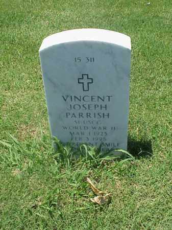 PARRISH (VETERAN WWII), VINCENT JOSEPH - Pulaski County, Arkansas | VINCENT JOSEPH PARRISH (VETERAN WWII) - Arkansas Gravestone Photos