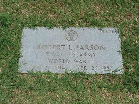 PARSON (VETERAN WWII), ROBERT L - Pulaski County, Arkansas | ROBERT L PARSON (VETERAN WWII) - Arkansas Gravestone Photos