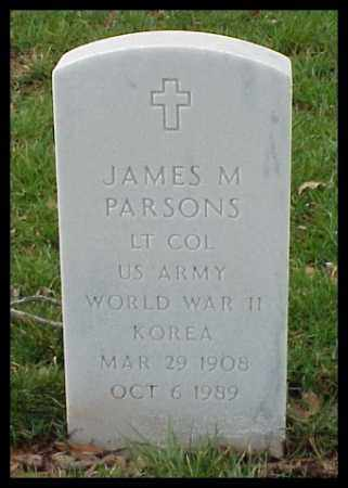 PARSONS (VETERAN 2 WARS), JAMES M - Pulaski County, Arkansas | JAMES M PARSONS (VETERAN 2 WARS) - Arkansas Gravestone Photos