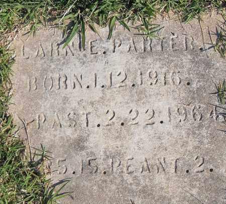PARTER, CLARENCE - Pulaski County, Arkansas | CLARENCE PARTER - Arkansas Gravestone Photos