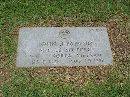 PARTON (VETERAN 3 WARS), JOHN J - Pulaski County, Arkansas | JOHN J PARTON (VETERAN 3 WARS) - Arkansas Gravestone Photos