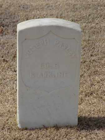 PASLEY (VETERAN UNION), JOSEPH - Pulaski County, Arkansas | JOSEPH PASLEY (VETERAN UNION) - Arkansas Gravestone Photos