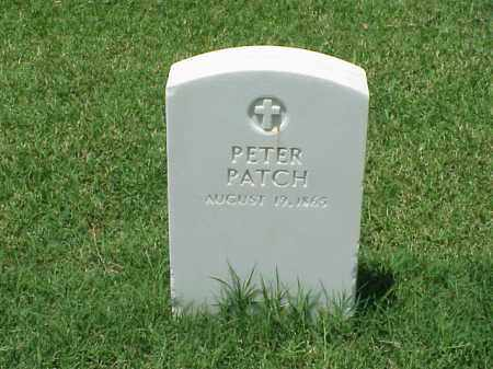 PATCH, PETER - Pulaski County, Arkansas | PETER PATCH - Arkansas Gravestone Photos