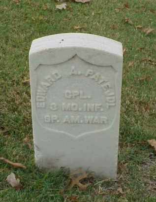 PATE, JDL (VETERAN SAW), EDWARD A - Pulaski County, Arkansas | EDWARD A PATE, JDL (VETERAN SAW) - Arkansas Gravestone Photos