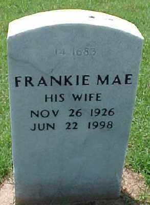 PATRICK, FRANKIE MAE - Pulaski County, Arkansas | FRANKIE MAE PATRICK - Arkansas Gravestone Photos