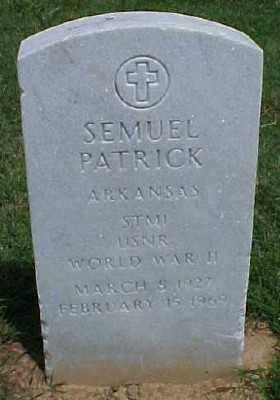 PATRICK (VETERAN WWII), SEMUEL - Pulaski County, Arkansas | SEMUEL PATRICK (VETERAN WWII) - Arkansas Gravestone Photos