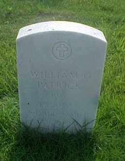 PATRICK (VETERAN WWII), WILLIAM G - Pulaski County, Arkansas | WILLIAM G PATRICK (VETERAN WWII) - Arkansas Gravestone Photos