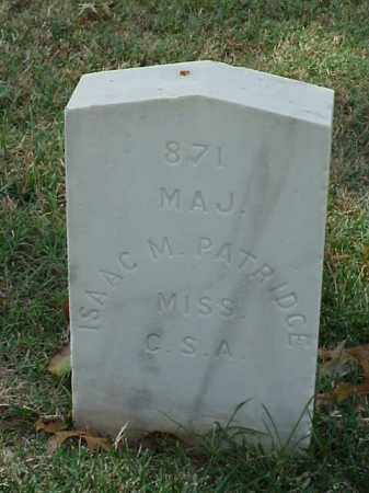 PATRIDGE (VETERAN CSA), ISAAC M - Pulaski County, Arkansas | ISAAC M PATRIDGE (VETERAN CSA) - Arkansas Gravestone Photos