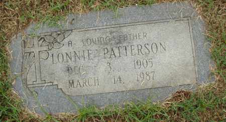 PATTERSON, LONNIE - Pulaski County, Arkansas | LONNIE PATTERSON - Arkansas Gravestone Photos