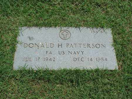 PATTERSON (VETERAN), DONALD H - Pulaski County, Arkansas | DONALD H PATTERSON (VETERAN) - Arkansas Gravestone Photos
