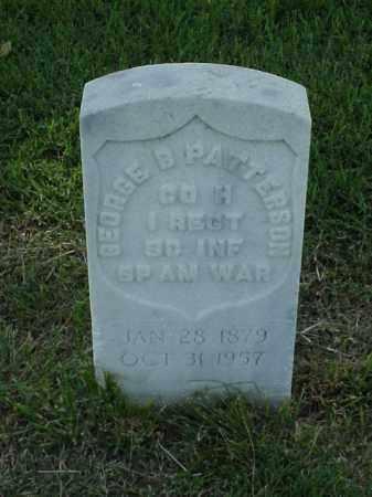 PATTERSON (VETERAN SAW), GEORGE B - Pulaski County, Arkansas | GEORGE B PATTERSON (VETERAN SAW) - Arkansas Gravestone Photos