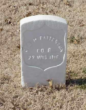 PATTERSON (VETERAN UNION), GEORGE H - Pulaski County, Arkansas | GEORGE H PATTERSON (VETERAN UNION) - Arkansas Gravestone Photos
