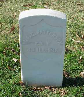 PATTERSON (VETERAN UNION), W A C - Pulaski County, Arkansas | W A C PATTERSON (VETERAN UNION) - Arkansas Gravestone Photos