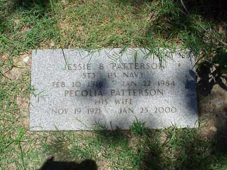 PATTERSON (VETERAN WWII), JESSIE B - Pulaski County, Arkansas | JESSIE B PATTERSON (VETERAN WWII) - Arkansas Gravestone Photos
