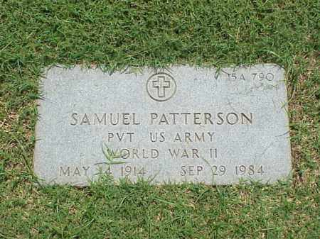 PATTERSON (VETERAN WWII), SAMUEL - Pulaski County, Arkansas | SAMUEL PATTERSON (VETERAN WWII) - Arkansas Gravestone Photos