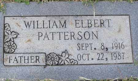 PATTERSON, WILLIAM ELBERT - Pulaski County, Arkansas | WILLIAM ELBERT PATTERSON - Arkansas Gravestone Photos