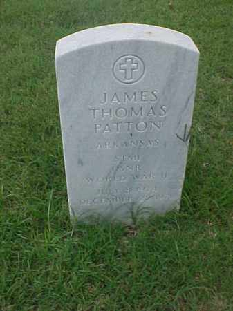 PATTON (VETERAN WWII), JAMES THOMAS - Pulaski County, Arkansas | JAMES THOMAS PATTON (VETERAN WWII) - Arkansas Gravestone Photos