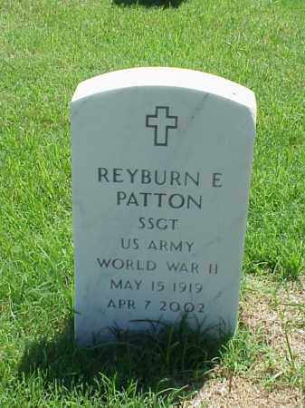 PATTON (VETERAN WWII), REYBURN E - Pulaski County, Arkansas | REYBURN E PATTON (VETERAN WWII) - Arkansas Gravestone Photos