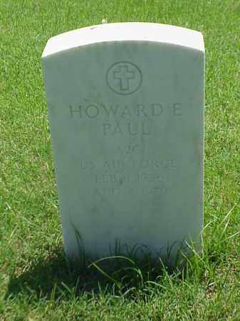 PAUL (VETERAN), HOWARD E - Pulaski County, Arkansas | HOWARD E PAUL (VETERAN) - Arkansas Gravestone Photos