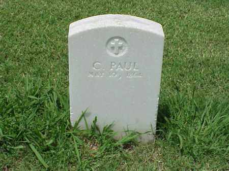 PAUL (VETERAN UNION), C - Pulaski County, Arkansas | C PAUL (VETERAN UNION) - Arkansas Gravestone Photos
